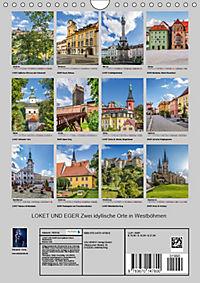 LOKET UND EGER Zwei idyllische Orte in Westböhmen (Wandkalender 2019 DIN A4 hoch) - Produktdetailbild 13