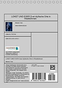 LOKET UND EGER Zwei idyllische Orte in Westböhmen (Tischkalender 2019 DIN A5 hoch) - Produktdetailbild 13