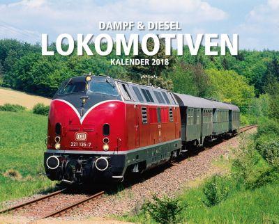 Lokomotiven Kal. 2018 + 2 Blechschilder