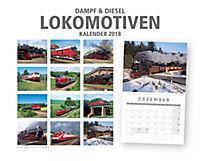 Lokomotiven Kal. 2018 + 2 Blechschilder - Produktdetailbild 12