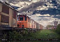 Lokomotiven und Wagen - Verfallen und vergessen auf dem Abstellgleis (Wandkalender 2019 DIN A2 quer) - Produktdetailbild 10