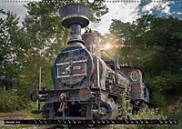 Lokomotiven und Wagen - Verfallen und vergessen auf dem Abstellgleis (Wandkalender 2019 DIN A2 quer) - Produktdetailbild 1
