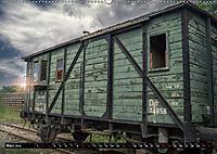 Lokomotiven und Wagen - Verfallen und vergessen auf dem Abstellgleis (Wandkalender 2019 DIN A2 quer) - Produktdetailbild 3