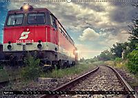 Lokomotiven und Wagen - Verfallen und vergessen auf dem Abstellgleis (Wandkalender 2019 DIN A2 quer) - Produktdetailbild 4