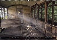 Lokomotiven und Wagen - Verfallen und vergessen auf dem Abstellgleis (Wandkalender 2019 DIN A2 quer) - Produktdetailbild 6