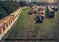 Lokomotiven und Wagen - Verfallen und vergessen auf dem Abstellgleis (Wandkalender 2019 DIN A2 quer) - Produktdetailbild 7