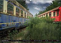 Lokomotiven und Wagen - Verfallen und vergessen auf dem Abstellgleis (Wandkalender 2019 DIN A2 quer) - Produktdetailbild 12