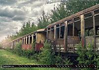 Lokomotiven und Wagen - Verfallen und vergessen auf dem Abstellgleis (Wandkalender 2019 DIN A2 quer) - Produktdetailbild 9