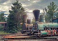 Lokomotiven und Wagen - Verfallen und vergessen auf dem Abstellgleis (Wandkalender 2019 DIN A2 quer) - Produktdetailbild 11