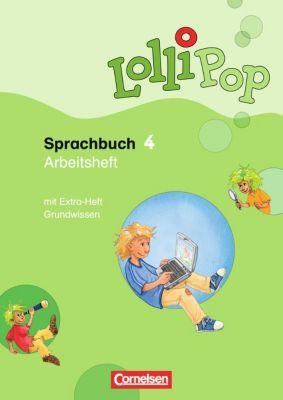 LolliPop Sprachbuch: 4. Schuljahr, Arbeitsheft