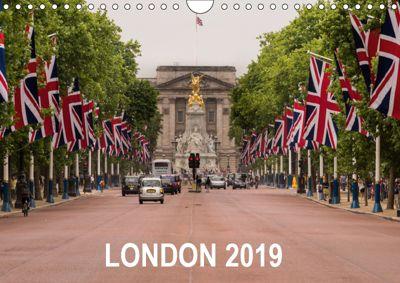 London 2019 (Wall Calendar 2019 DIN A4 Landscape), Matthew Malloy