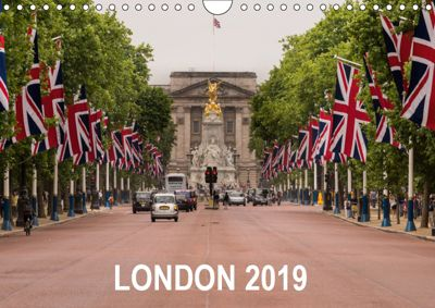 London 2019 (Wall Calendar 2019 DIN A4 Landscape), Matthew Malloy