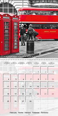 LONDON Classical Cityscapes (Wall Calendar 2019 300 × 300 mm Square) - Produktdetailbild 2