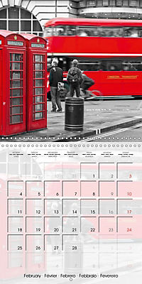 LONDON Classical Cityscapes (Wall Calendar 2019 300 × 300 mm Square) - Produktdetailbild 2