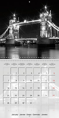 LONDON Classical Cityscapes (Wall Calendar 2019 300 × 300 mm Square) - Produktdetailbild 1