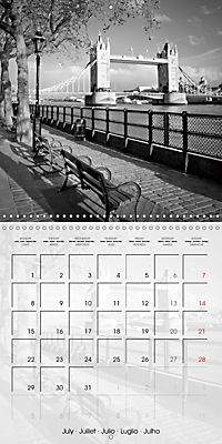 LONDON Classical Cityscapes (Wall Calendar 2019 300 × 300 mm Square) - Produktdetailbild 7