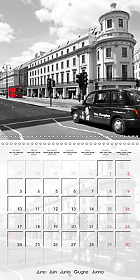 LONDON Classical Cityscapes (Wall Calendar 2019 300 × 300 mm Square) - Produktdetailbild 6
