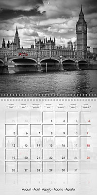 LONDON Classical Cityscapes (Wall Calendar 2019 300 × 300 mm Square) - Produktdetailbild 8