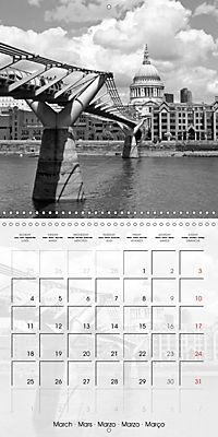 LONDON Classical Cityscapes (Wall Calendar 2019 300 × 300 mm Square) - Produktdetailbild 3