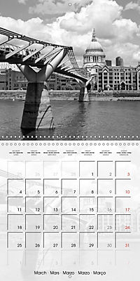 LONDON Classical Cityscapes (Wall Calendar 2019 300 × 300 mm Square) - Produktdetailbild 3