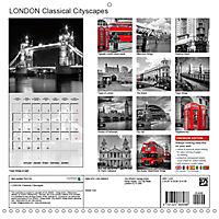 LONDON Classical Cityscapes (Wall Calendar 2019 300 × 300 mm Square) - Produktdetailbild 13