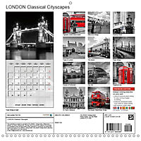 LONDON Classical Cityscapes (Wall Calendar 2019 300 × 300 mm Square) - Produktdetailbild 13