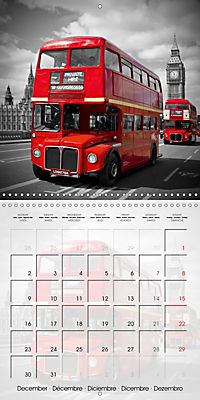 LONDON Classical Cityscapes (Wall Calendar 2019 300 × 300 mm Square) - Produktdetailbild 12