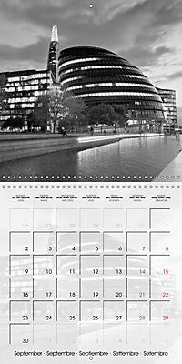 LONDON Classical Cityscapes (Wall Calendar 2019 300 × 300 mm Square) - Produktdetailbild 9