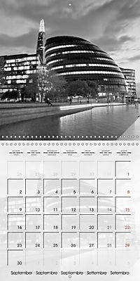 LONDON Classical Cityscapes (Wall Calendar 2019 300 × 300 mm Square) - Produktdetailbild 9