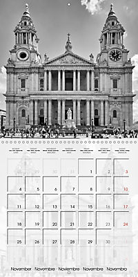 LONDON Classical Cityscapes (Wall Calendar 2019 300 × 300 mm Square) - Produktdetailbild 11