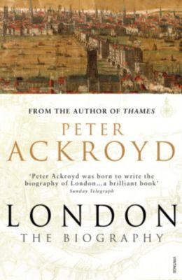 London, English edition, Peter Ackroyd