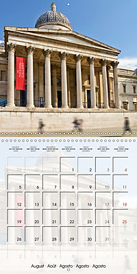 LONDON Famous Cityscapes (Wall Calendar 2019 300 × 300 mm Square) - Produktdetailbild 8