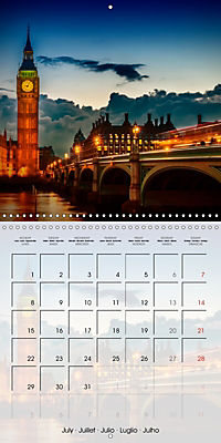 LONDON Famous Cityscapes (Wall Calendar 2019 300 × 300 mm Square) - Produktdetailbild 7