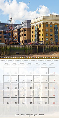 LONDON Famous Cityscapes (Wall Calendar 2019 300 × 300 mm Square) - Produktdetailbild 6