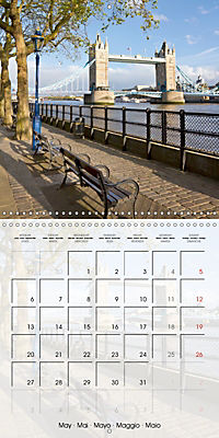 LONDON Famous Cityscapes (Wall Calendar 2019 300 × 300 mm Square) - Produktdetailbild 5