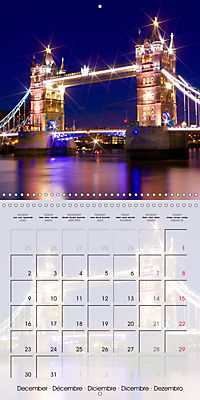 LONDON Famous Cityscapes (Wall Calendar 2019 300 × 300 mm Square) - Produktdetailbild 12