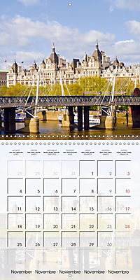 LONDON Famous Cityscapes (Wall Calendar 2019 300 × 300 mm Square) - Produktdetailbild 11
