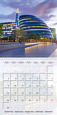 LONDON Famous Cityscapes (Wall Calendar 2019 300 × 300 mm Square) - Produktdetailbild 9