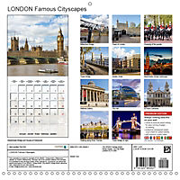 LONDON Famous Cityscapes (Wall Calendar 2019 300 × 300 mm Square) - Produktdetailbild 13