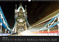 London - Night Shots (Wall Calendar 2019 DIN A3 Landscape) - Produktdetailbild 7