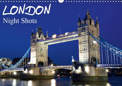 London - Night Shots (Wall Calendar 2019 DIN A3 Landscape), Juergen Schonnop