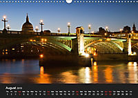 London - Night Shots (Wall Calendar 2019 DIN A3 Landscape) - Produktdetailbild 8