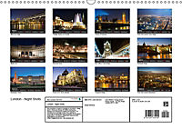 London - Night Shots (Wall Calendar 2019 DIN A3 Landscape) - Produktdetailbild 13