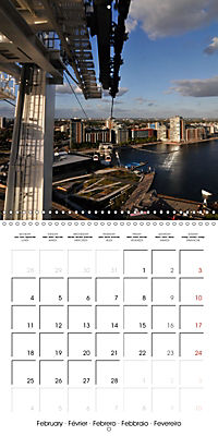 London - Rivers, Lakes and Canals (Wall Calendar 2019 300 × 300 mm Square) - Produktdetailbild 2