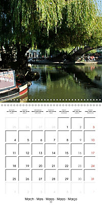 London - Rivers, Lakes and Canals (Wall Calendar 2019 300 × 300 mm Square) - Produktdetailbild 3