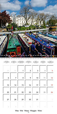 London - Rivers, Lakes and Canals (Wall Calendar 2019 300 × 300 mm Square) - Produktdetailbild 5