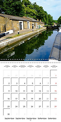 London - Rivers, Lakes and Canals (Wall Calendar 2019 300 × 300 mm Square) - Produktdetailbild 9