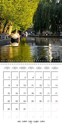 London - Rivers, Lakes and Canals (Wall Calendar 2019 300 × 300 mm Square) - Produktdetailbild 7