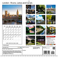 London - Rivers, Lakes and Canals (Wall Calendar 2019 300 × 300 mm Square) - Produktdetailbild 13