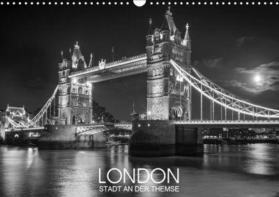 London Stadt an der Themse (Wandkalender 2019 DIN A3 quer), Dirk Meutzner